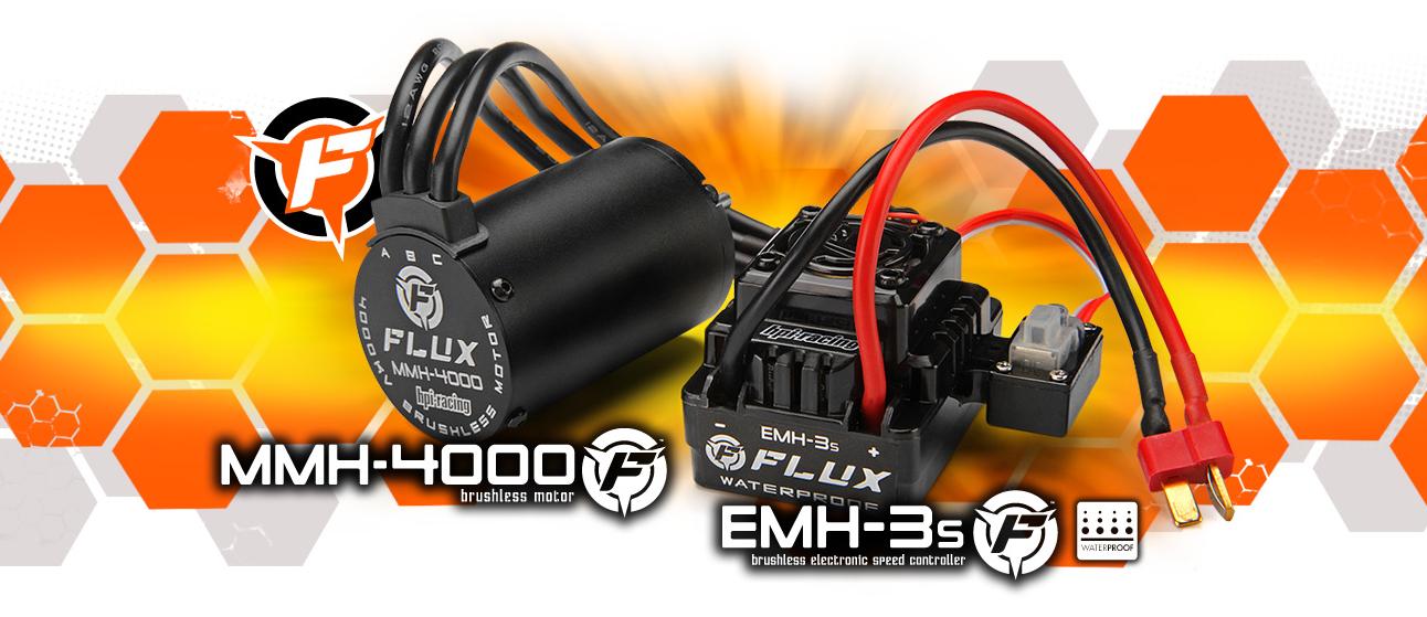 brushless automodel electric hpi racing firestorm flux