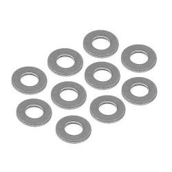 Xray Washer Steel 5x10x1.0 (10)