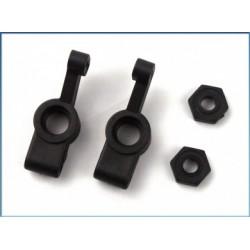 Set fuzete spate / adaptoare Hex (2+2)