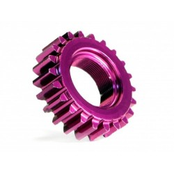 Pinion atac filetat 22Tx12mm M1