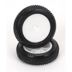 Cauciucuri lipite Mini Pin fata slim - Soft (2buc) 1/10