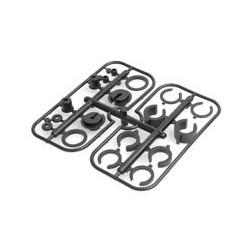 Set accesorii plastic amortizaoare