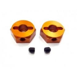 Serpent Wheel-adaptor alu front (2 buc)