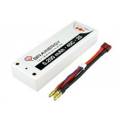 Acumulator Li-Po 7.4V 5200mAh Yuki Hardcase