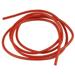 Cablu 16AWG invelis siliconic 1m rosu