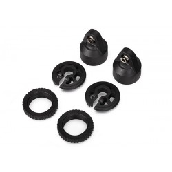 Shock caps, GTX shocks/ spring perch/ adjusters/ 2.5x14mm CS (2) (for 2 shocks) X-MAXX Traxxas