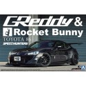 Macheta TOYOTA 86 '12 GREDDY&ROCKET BUNNY VOLK RACING