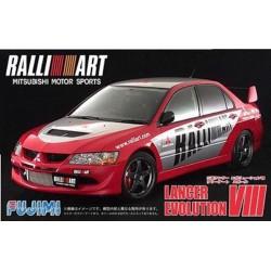 Macheta de asamblat Mitsubishi Rally Art Lancer Evolution VIII