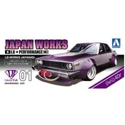 Macheta de asamblat 1/24 LIBERTY WALK 4D Nissan