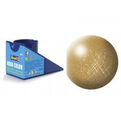 Vopsea Aqua Color Auriu Metalizat Revell