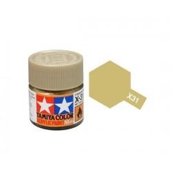 Vopsea Tamiya Acryl Mini X-31 Titan Gold 10ml Machete