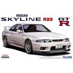 Macheta de asamblat R 33 Skyline GT-R '95