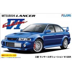 Macheta de asamblat Mitsubishi Lancer Evolution VI GSR