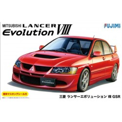 Macheta de asamblat Mitsubishi Lancer Evolution VIII GSR