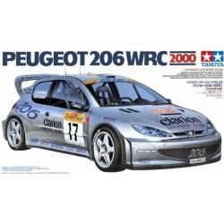 Macheta de asamblat Peugeot 206 WRC 2000 TAMIYA