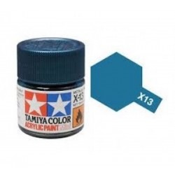 Vopsea Tamiya Acryl Mini X13 Metalic Blue 10ml Machete