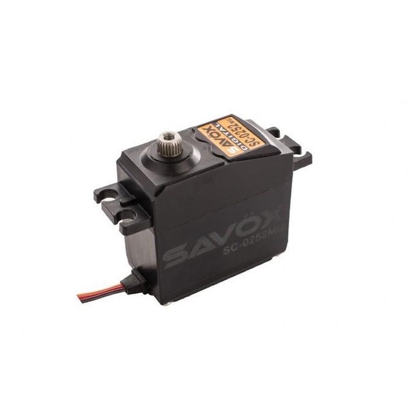 Servo Metalic SAVOX 10.5Kg 0.19S @ 6V