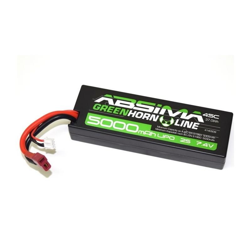 Acumulator LiPo 7.4V Absima 5000Mah 45C Automodele RC