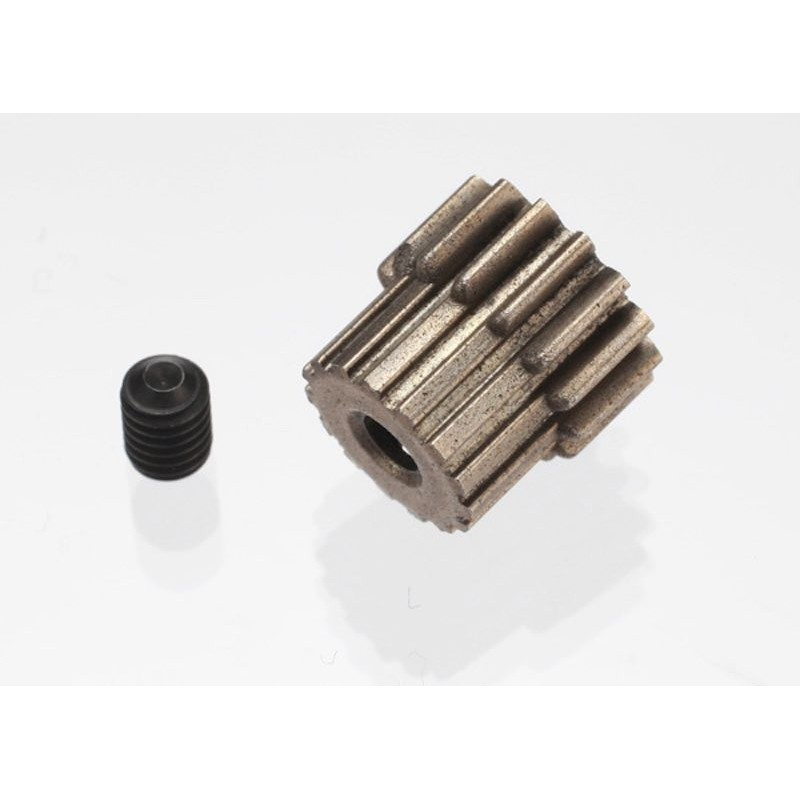 Pinion 15T 48Dp Ax 2.3mm pentru Automodele Traxxas 1/16 Teteon Latrax