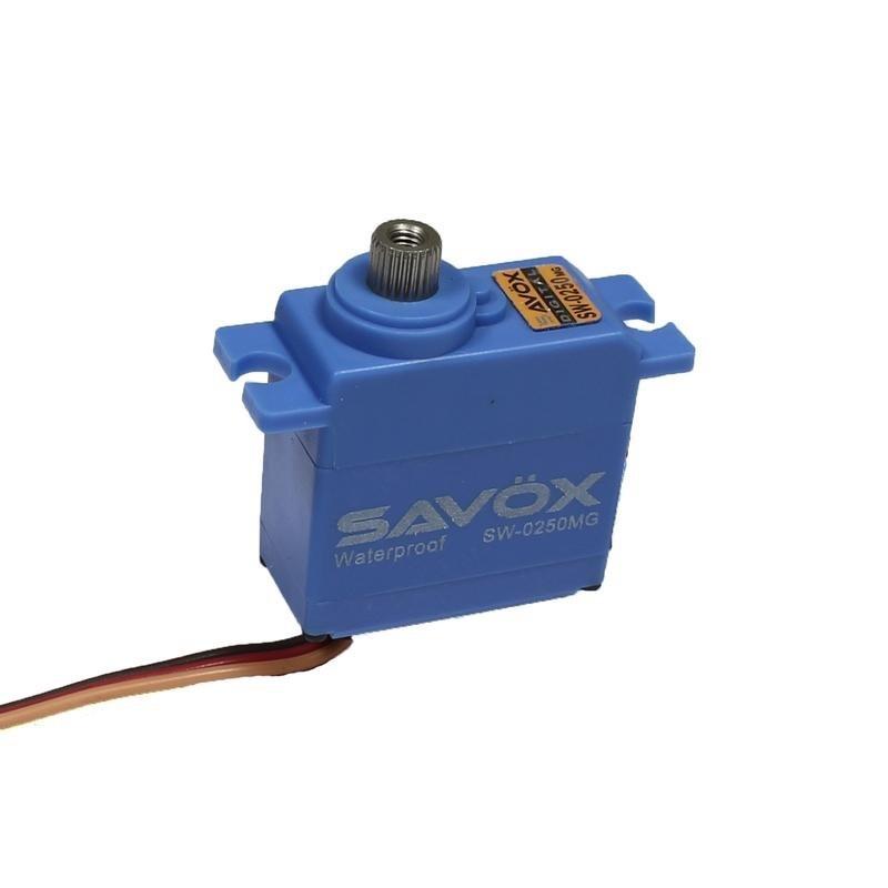 Servo Metalic SAVOX Traxxas 1/16 5Kg 0.11 @ 6V SW0250MG