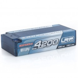 Acumulator Lipo LRP 7.6V Graphene 4200Mah Shorty 120C / 60C 430266