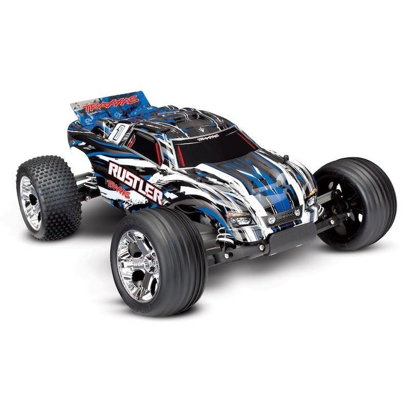 Automodel Electric OffRoad Traxxas Rustler 2WD XL-5 37054-1 - 1 - 4779