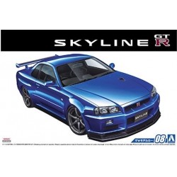 Macheta Auto De Asamablat 1/24 NISSAN R34 SKYLINE GT-R V-specⅡ '02
