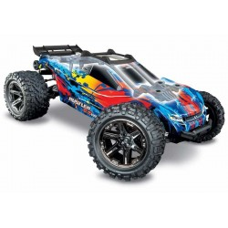 Traxxas Rustler 4X4 OffRoad Masina RC Electrica Brushless VXL 67076-4