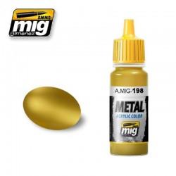 Vopsea AMMO Metallic Gold AMIG0198