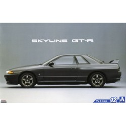 Macheta Auto Nissan BNR32 Skyline GT-R `89 Aoshima - 1 - 4882