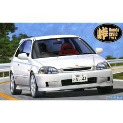 Macheta Auto de Asamblat Honda Civic Type R (EK9) FUJIMI