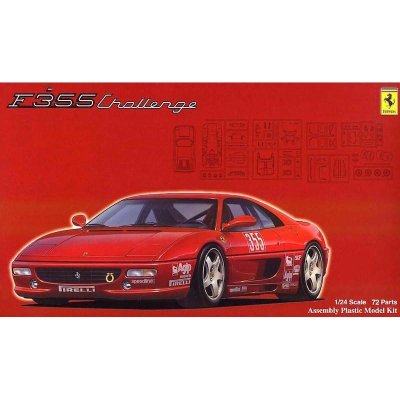 Macheta Auto de Asamblat Ferrari F355 Challenge Fujimi