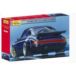 Macheta Auto Asamablat Porsche 934 RSR Turbo Heller