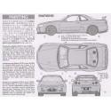 Macheta Auto de Construit Nissan Skyline GT-R V Spec II R34 Tamiya - 4 - 4897