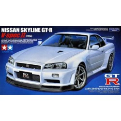 Macheta Auto de Construit Nissan Skyline GT-R V Spec II R34 Tamiya