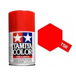 Vopsea Spray ITALIAN RED TS-08 Tamiya