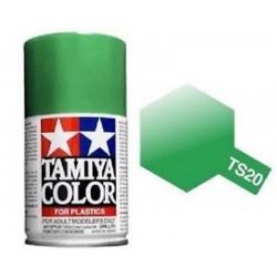 Vopsea Spray Green Metallic TS20 Tamiya TS-20