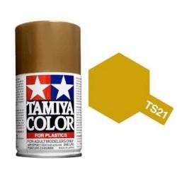 Vopsea Spray Gold Metallic TS21 Tamiya TS-21