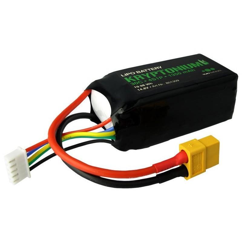Baterie LiPo 14.8V 1350mAh 30C Yuki