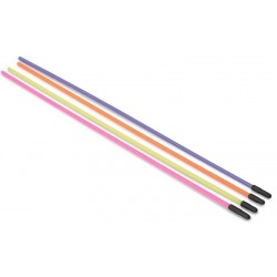 Set 4 Paie Antena Multicolore cu Capac Protectie Absima