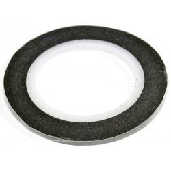 Banda Mascare Neagra Hartie 2mm x 10m
