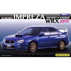 Macheta de asamblat Subaru Impreza WRX STI 2003