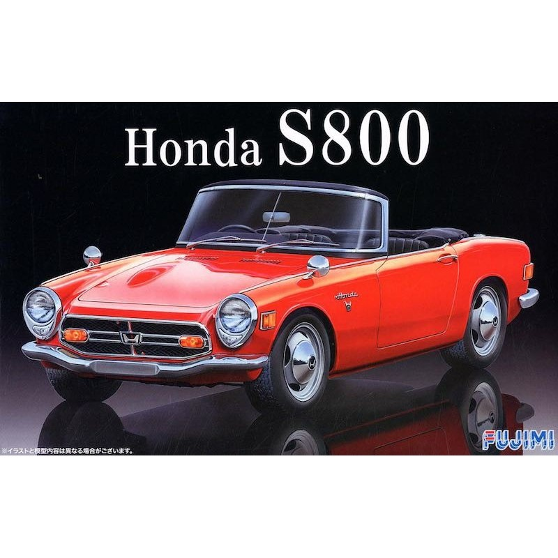Macheta Auto Fujimi Honda S800 Kit DIY 1/24