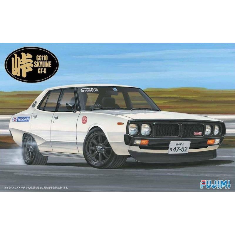 Macheta Auto Fujimi Nissan Skyline GT-X Kenmary Kit DIY 1/24