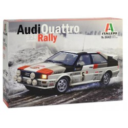 Macheta Auto Construit Audi Quattro Rally Italeri Kit Diy