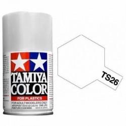 Vopsea Spray Pure White TS26 Tamiya TS-26 ALB TAM85026