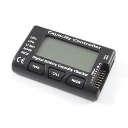 Tester acumulatori LiPo , capacitate , tensiune ET0501