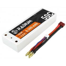 Acumulator LiPo 7.4V 6500mAh 2S1P Radium 50C AZ-8008
