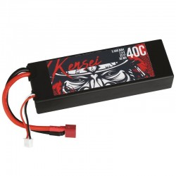 Acumulator LiPo 7.4V 5000mAh Hardcase Yuki Kensei Li-PO Automodel RC
