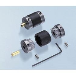 Cuplaj Elastic de Sarcina Motor Tub pupa 3.17-4mm / 4mm-5mm